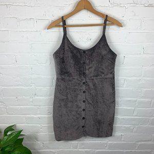 Urban Outfitters Cooperative Velvet Mini Dress